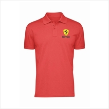 Ferrari Cotton Polo Shirt (2 Designs)