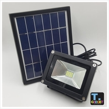 Waterproof Solar powered LED Flood light outdoor wall lamp outdoor