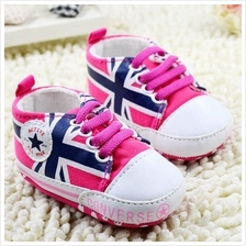 Converse PINK Great Britain Prewalker Shoe