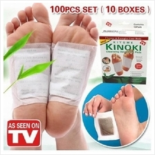 Kinoki Detox Foot Pads Patches 10boxes set(100pcs)