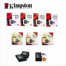 Kingston 80Mbps 40Mb/s Class 10 MicroSD 8GB/16GB/32GB/64GB Memory Card