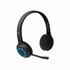 Logitech H600 Fold-and-Go Wireless Headset (981-000341)