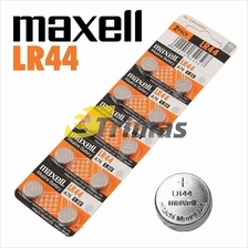Maxell LR44 A76 AG13 L1154 G13 Micro Alkaline Coin Button Cell Battery (10PCS)