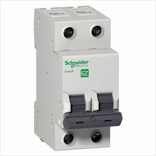 SCHNEIDER ELECTRIC EASY9 2 POLE, 32A, C, 4.5KA, 230VAC MINIATURE CIRCUIT BREAK