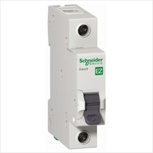 SCHNEIDER ELECTRIC EASY9 1 POLE, 6A, C, 4.5KA, 230VAC MINIATURE CIRCUIT BREAKE