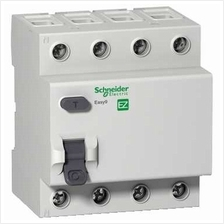 SCHNEIDER ELECTRIC EASY9 4 POLE, 40A, 100mA, AC type, 400V RESIDUAL CURRENT CI