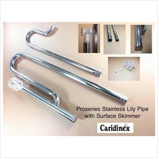 Caridinex Proseries Stainless Steel Lily Pipe w/skimmer (filter, tool)