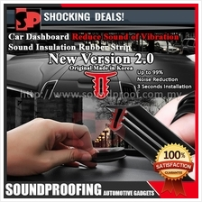 Car Dashboard Sound Insulation Rubber Strip