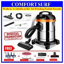 Heavy Duty 1000W 3in1 Dry Wet Blower 15L Vacuum Cleaner Dustmite Brush