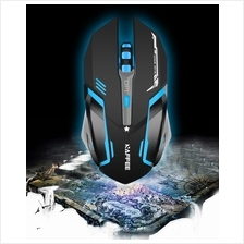 Wireless, Rechargeable, Silent & 7 LED Gaming Mouse