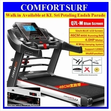2Yr Wrty- Chislim Q7 L/B 4.0HP Treadmill 46CM Super Wide Belt LCD Wifi