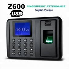 Z600 Fingerprint Attendance Punch Card Machine USB Download English