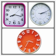 3D Fashion Wall Clock/Jam Dinding/Jam Bulat 30CM