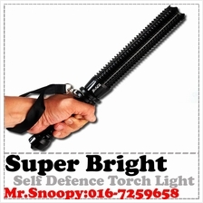 Super Bright LED Torch Light Torchlight rechargeable lamp Self defense