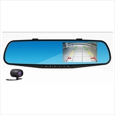 1080P Rear-View Mirror 4.3' 5.0' Inch Car Recorder Car Camera