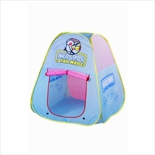 Angry Birds Design Kids Portable Play Tent (With Bag) - Blue+Pink