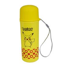 Pokemon Two Layer Plastic With Glass Bottle