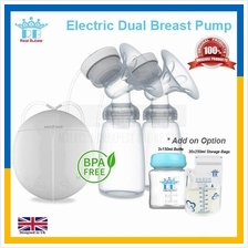 ORIGINAL Real Bubee Electric Automatic Dual Breast Pump 2 Baby Bottle