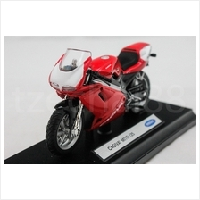 Welly 1:18 DIECAST Motocycle CAGIVA MITO 125 Red Model COLLECTION New