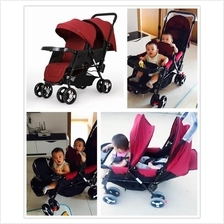 Little Rabbit Light Weight Double Twins Baby Stroller