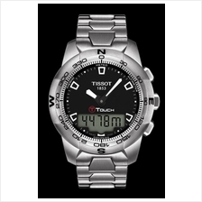 TISSOT T047.420.11.051.00 T-TOUCH II Stainless Steel black index
