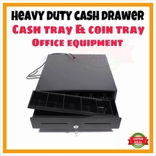 OFFER NEW Heavy Duty Cash Drawer Cash Tray Coin Tray Office Use RJ11