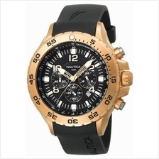Nautica NST Rose Gold Bezel Chronograph Watch N18523G