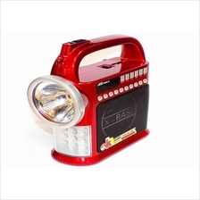Portable Torch LED Light,USB,TFcard,MP3,FM Radio Lengkap 30Juz Alquran
