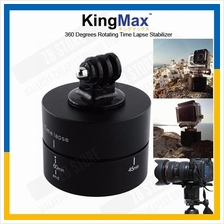 KingMax 360 Degrees Rotating Tripod 60 Min Time Lapse Stabilizer DSLR