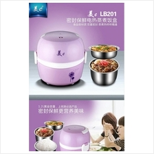 Portable Electric Lunch Box Steamer Egg Mini Rice Cooker