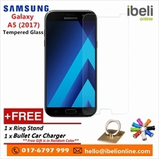 Samsung Galaxy A5 2017 Premier 9H Tempered Glass+Free iRing&Car Charge