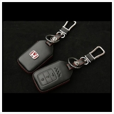 Honda City Accord Type-R 2014-17 Keyless Remote Leather Key Cover Case