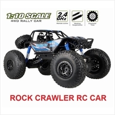 2.4G 4WD 1/10 Scale Rock Crawler RC Car Electric RTR Buggy Truck