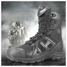 MT016094 Male Commando Special Forces Military High-top Boots
