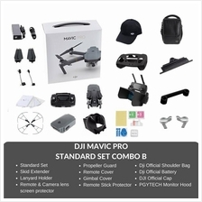 (Ready Stocks - Immediate Dispatch) DJI Mavic Pro Drone COMBO B Set with Acces