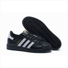 ADIDAS SUPERSTAR BLACK WHITE GOLD