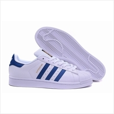 ADIDAS SUPERSTAR WHITE DIAMOND BLUE GOLD