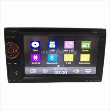 "6.2"" Universal Double Din Touchscreen DVD Player 6212 by BROZ CAR"
