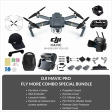 (Ready Stocks - Immediate Dispatch) DJI Mavic Pro Drone Fly More Combo Special