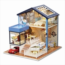 Seattle with Light / Anti-dust Cover DIY Miniature Doll House