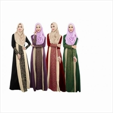 ELFBOUTIQUE 020 AURORA Muslimah Jubah FREE SHIPPING (4 COLORS AVAILABLE)