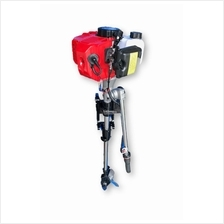 Kazumi Two-Stroke 3hp 52cc Superior Engine Outboard Motor