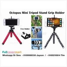 Octopus Mini Tripod Stand Grip Holder Mount Mobile Phones Camera