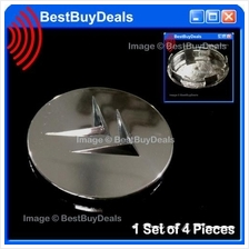 4x CITROEN Center Alloy Wheel Hub Cap Chrome Badge Centre C2 C5 C8 DS3