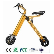 AUTO ELECTRICAL FOLDABLE BICYCLE PORTABLE TRI-WHEEL SCOOTER BIKE