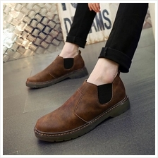 Men England style Boots Men Business Shoes