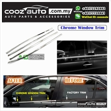 Mitsubishi Storm Window Chrome Lining / Door Belt Moulding