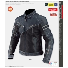 Komine Denim Mesh Motorcycle Motor Racing Jacket Suit Equipment