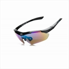 Polarized Sports Sunglass + 5 Changeable Lenses
