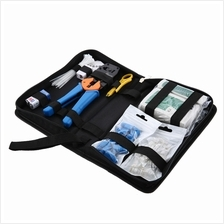 NETWORK COMPUTER MAINTENANCE TOOL KIT CABLE TESTER 868G NETWORK PLIERS CRYSTAL